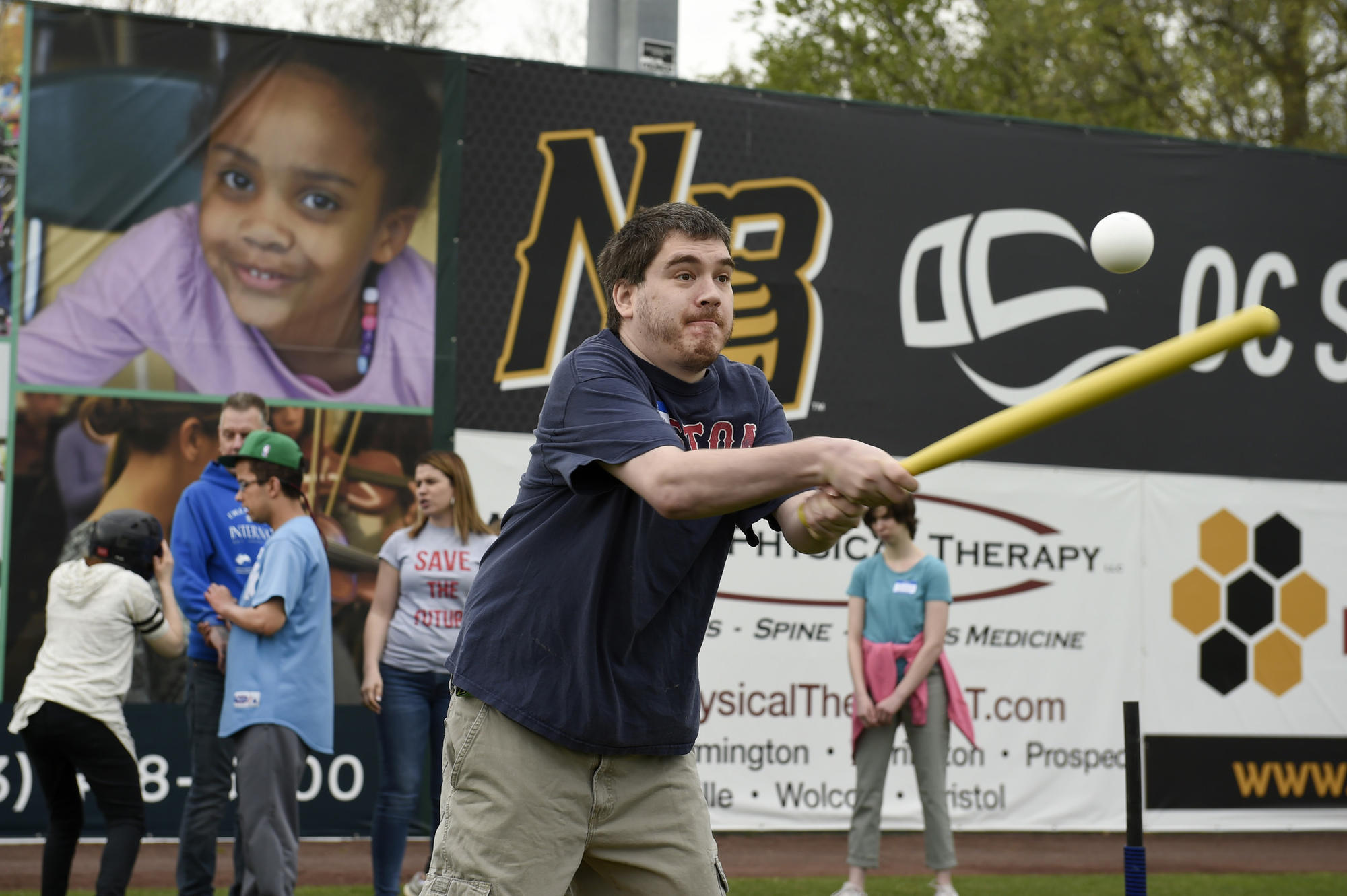 Disabled Fans Sample Some On-Field Play With The New Britain Bees - Hartford Courant
