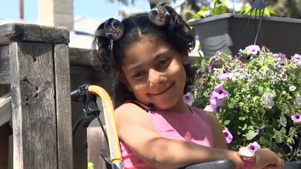 Wheelchair belonging to girl with cerebral palsy and family's minivan stolen from outside southeast home