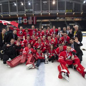 canadian amputee hockey finland